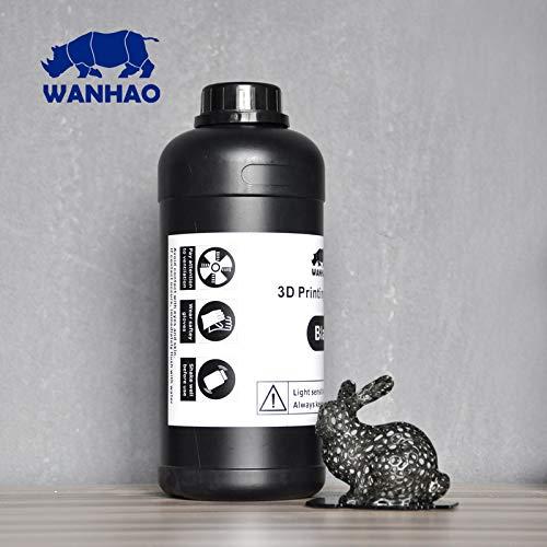Wanhao 3D-Printer UV Resin - 1000 ml - Schwarz