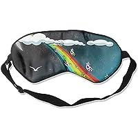 Eye Mask Eyeshade Cartoon Rainbow Sleep Mask Blindfold Eyepatch Adjustable Head Strap preisvergleich bei billige-tabletten.eu