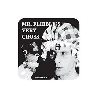 Coasteroo MR FLIBBLE'S VERY CROSS - Arnold Rimmer Red Dwarf - FRIDGE MAGNET - 57mm x 57mm - Gloss Finish - TV/Television Themed Design