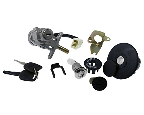 2extreme Cadenas et clés pour Baotian BT49QT de 10, BT49QT-18, 12, BT49QT BT49QT de 20