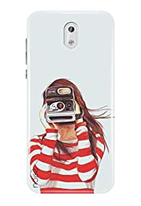 Noise Nokia 3 Cover , Printed Designer Back Cover For Nokia 3 Case cover / Patterns & Ethnic / Capture Design - (GD-36)