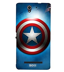 printtech Back Case Cover for Sony Xperia C3 Dual :: Sony Xperia C3 Dual D2502