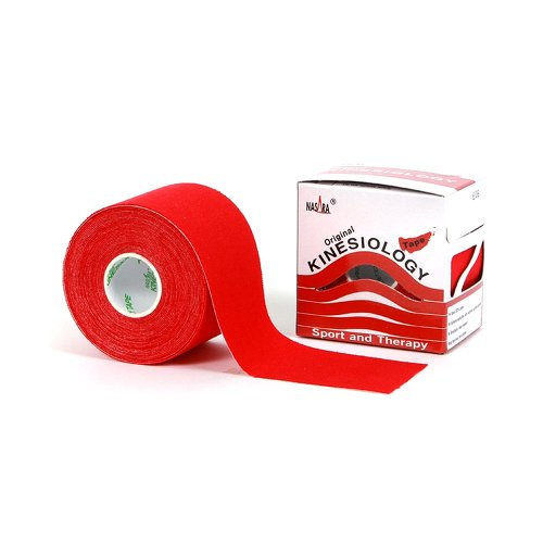 Nasara Kinesiologie Tape Original (5 cm x 5 m), Rot