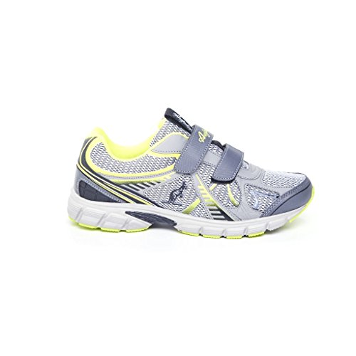 Australian, scarpa da ginnastica da uomo (43, DK Silver)