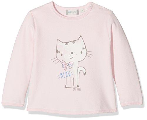 Sanetta Baby-Mädchen Sweatshirt 114193, Rosa (Shadow Rose 37052), 56