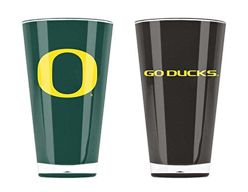 NCAA Unisex isoliert Acryl Tumbler, Oregon Ducks, 20 Ounce Twin Pack Alt Color
