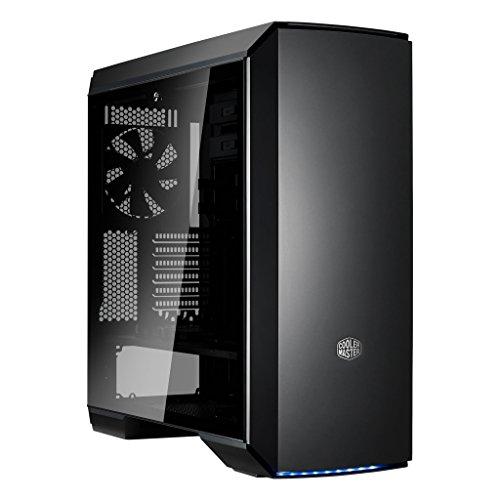 Cooler Master MasterCase MC600P - Cajas de ordenador de sobremesa 'E-ATX, ATX, mATX, mini-ITX, FreeForm Modular System, Panel lateral de vidrio templado' MCM-M600P-KG5N-S00