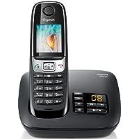 Gigaset C620A Noir Téléphone sans Fil DECT/GAP Répondeur