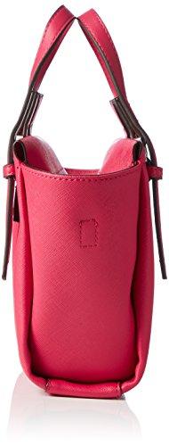 Calvin Klein M4RISSA Mini Tote, Sacchetto Donna, 18 x 10 x 32 cm (b x h x t) Rosa (Bright Rose)