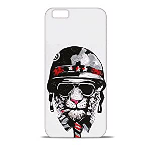 ezyPRNT Smoking Lion Printed Mobile Back Case Cover for Apple iPhone 6