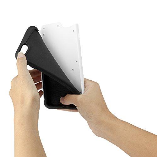 BoxWave Étui iPhone 6 et iPhone 6 Plus Resolute OA3 Coque de Protection 3-en - 1 Etui Housse en Hybride avec 3 couches durables pour iPhone 6 Plus Étuis et housses pour Tenacious (Bleu)