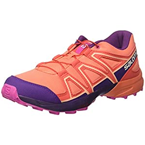 SALOMON Unisex-Kinder Speedcross J Traillaufschuhe, rot, 32 EU