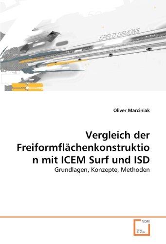 Vergleich der Freiformflächenkonstruktion mit ICEM Surf und ISD: Grundlagen, Konzepte, Methoden