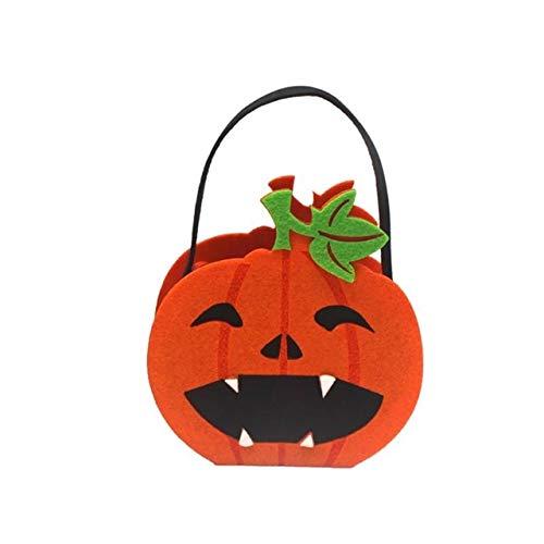 WSCOLL Halloween Candy Bag Verpackung Inhaber Süßes oder Saures Geschenk Tasche Halloween Party Kostüme Supplies Decor - Kürbis/Ghost/Black Cat One Größe - Monster High Ghost Kostüm
