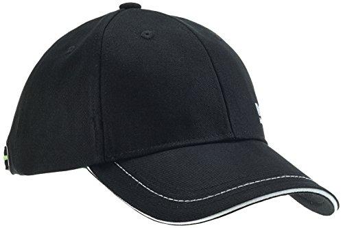BOSS Herren 1 Baseball Cap, Schwarz (Black 1), One Size (Plain Baseball Cap Schwarz)