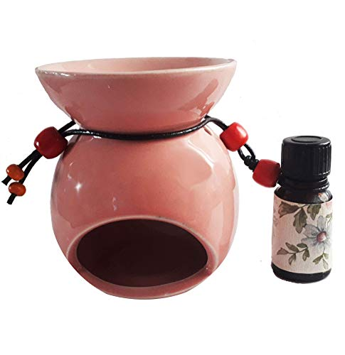 """Öl Diffusor Keramik""""Venus"""" Öl-Brenner Luftbefeuchter Aromatherapie & duft diffuser Ätherisches Öl-Wärmer Magnolie 10 ml. Teelichthalter fürs Raumdüfte Hause Dekoration Weihnachten"""