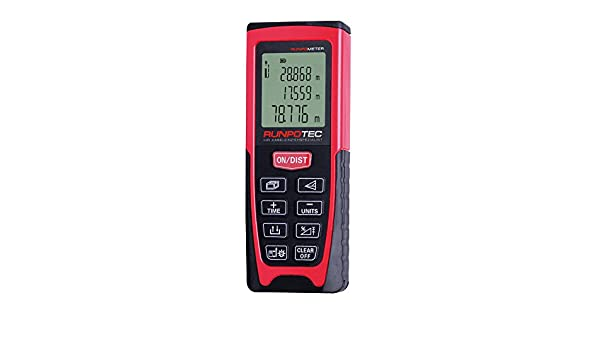 Kaleas Entfernungsmesser Gmbh : Runpotec 10108runpometer laser distanzmessgerät: amazon.de: baumarkt