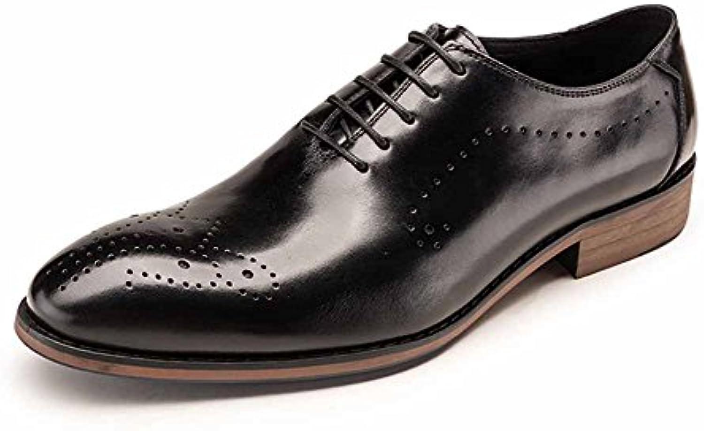 Exing Herrenschuhe Trend New Sneakers  Mode Casual Deck Schuhe  Abgerundete Spitze Laceup Kleine weissszlige Schuhe