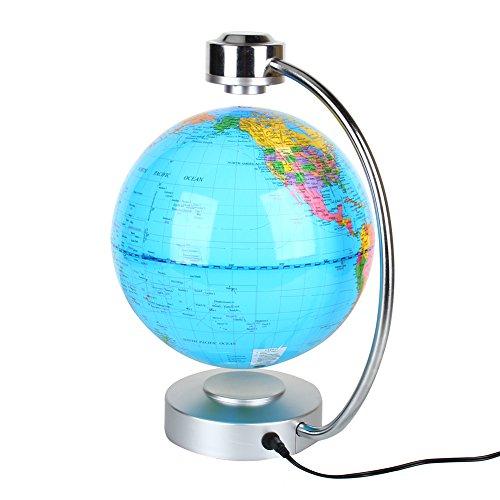 La suspensión de la luz el magnetismo de la tierra creativa, lámpara de Luz LED azul en todo el mundo, el hogar y la Oficina