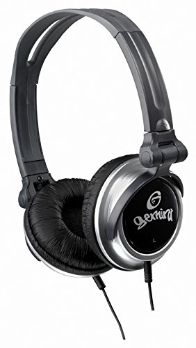 Gemini DJX-03 Professional DJ-Kopfhörer (102dB, 3,5mm Klinkenstecker, 1,4m) (Dj Equipment Gemini)