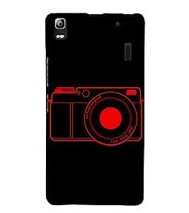 Camera 3D Hard Polycarbonate Designer Back Case Cover for Lenovo K3 Note :: Lenovo A7000 Turbo