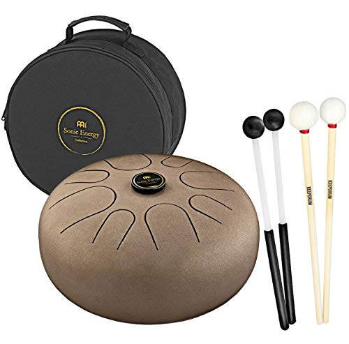 Meinl STD1VB Sonic Energy Tongue Vintage - Juego de baquetas y baquetas (1 par), color marrón