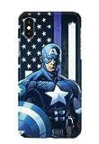Case Me Up Coque téléphone pour Iphone X XS Captain America Steve Rogers Superhero...