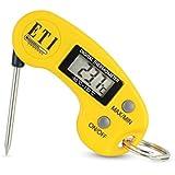 Llavero - Mini termómetro Digital con sonda plegable–Max Min función