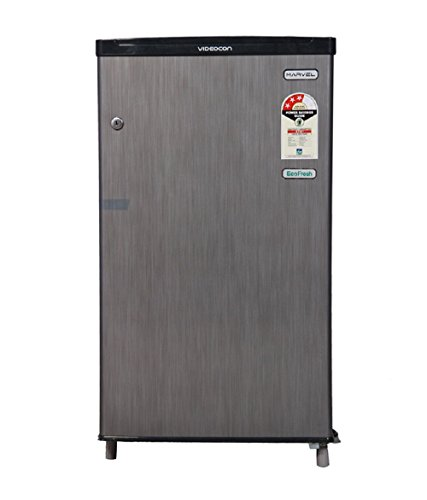 Videocon VC090PSH-FDW Direct-cool Single-door Refrigerator (80 Ltrs, Silver Hairline)