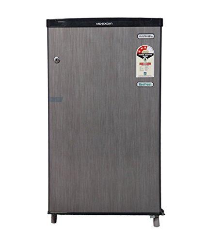 Videocon 80 L Direct-cool Refrigerator (VC090PSH-FDW/VC091PSH-FDW, Silver Hairline)