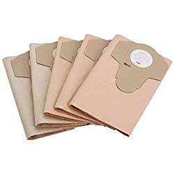 Dustbags,Foam filter, Debris Col -15 Pcs for Wet Dry Vacuum Cleaner