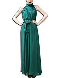 3871ad1201 vestito verde - Vestiti / Donna: Abbigliamento - Amazon.it