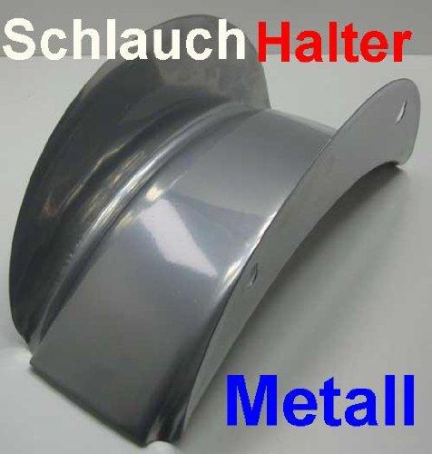 Wand Schlauchhalter aus Metall für 15 m Schlauch, Wand Garten Schlauch Halter (LHS)
