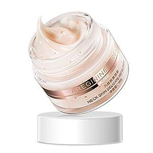 Crema para el Cuello, 100 g Crema para el Cuidado de la Piel del Cuello Crema reafirmante Antiarrugas Crema reafirmante…