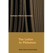The Letter to Philemon by Markus Barth (2000-08-01)
