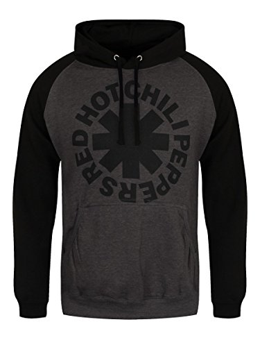 Red Hot Chili Peppers Black Asterisk Kapuzenpulli charcoal/schwarz charcoal/schwarz