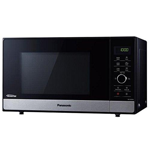 Panasonic–nnsd28hsgtgf–Microondas Inverter 23L 1000W Negro/Acero inoxidable