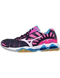 Mizuno Wave Tornado X Wos, Chaussures de Volleyball Femme