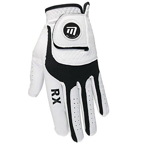 Masters RX Ultimate Gant de golf avec marqueur de balle magnétique–Homme/Femme–droite, gauche, Homme, Rx Ultimate Left Hand, blanc, x-large