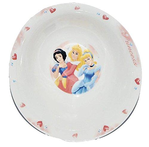 alles-meine.de GmbH Disney Princess  - Müslischale / Suppenschüssel - Kindergeschirr Keramik - für Kinder Mädchen Prinzessin Schneewittchen Dornröschen Aschenputtel - Frühstücksgeschirr Geschirr
