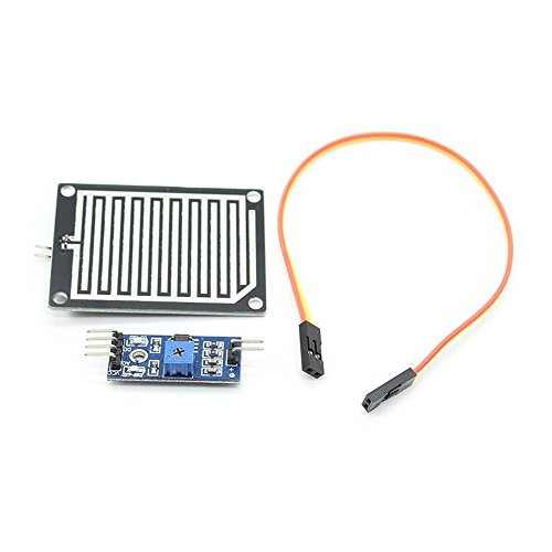 Optimus Electric Rainfall Rain Water Droplet Sensor Detection Board and Control Module Weather Analyser from (Detector Voltage Kit)