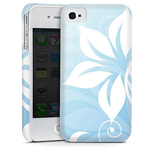 Apple iPhone 5s Housse Étui Protection Coque Fleur Fleur Ornement Cas Premium mat