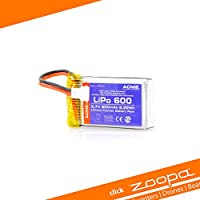 zoopa Batería -Sustitución Acme para quadrocopter Q420 Crucero 3.7V / 600mAh (ZQ0420-B)