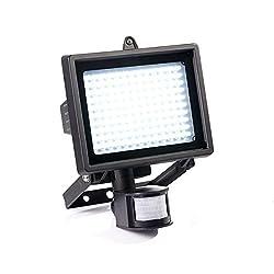 LED Strahler mit Bewegungsmelder 130 LEDs Spotlicht