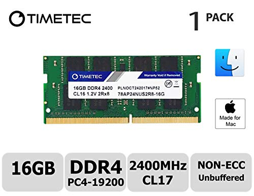 Timetec Hynix IC compatible with Apple 16GB DDR4 2400MHz