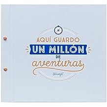 """Mr. Wonderful Álbum con mensaje """"Aquí guardo un millón de aventuras"""""""