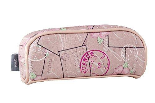 Beauty case femme GIANMARCO VENTURI rose toilette necessaire de voyage T327