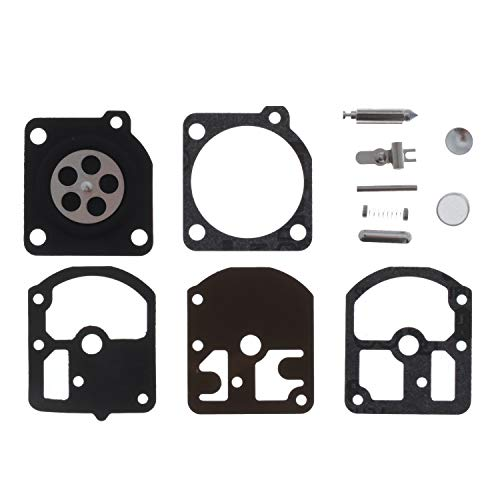Jardiaffaires Kit carburateur Adaptable remplace Zama RB-5, RB-7, RB-11, RB-14