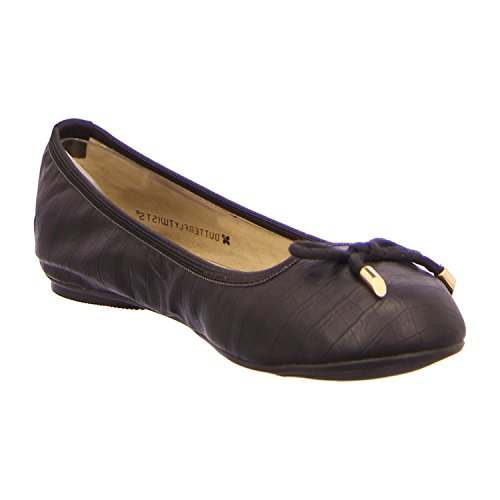 Butterfly Twist Woman Francesca Ballerina Black Croco *