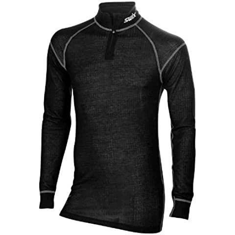 Swix Racing Pro Fit body wear Turtle neck Man, manga larga Ski-camiseta talla S